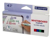 Whiteboardpenna CENTROPEN rund 4/FP
