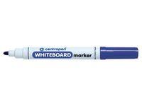 Whiteboardpenna CENTROPEN rund blå
