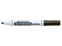 Whiteboardpenna CENTROPEN rund svart