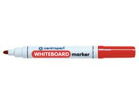 Whiteboardpenna CENTROPEN rund röd