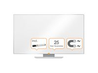 """Whiteboard NOBO Widescreen 55"""" Emalj"""