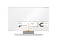 """Whiteboard NOBO Widescreen 32"""" NanoClean"""