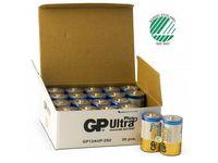 Batteri GP Ultra Plus Alkaline D 2/FP