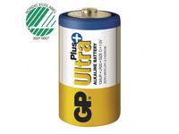 Batteri GP Ultra Plus D LR20 2/FP