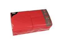 Servett 1-lags 33x33cm röd 500/FP