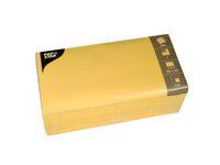 Servett 1-lags 33x33cm gul 500/FP