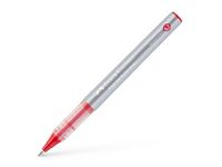 Bläckkulpenna FABER CASTELL 0,7 röd