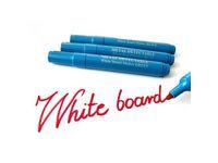 Whiteboardpenna detekterbar rund blå