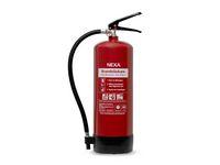 Brandsläckare NEXA pulver 6kg röd 55A