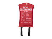 Brandfilt NEXA 120x180cm röd