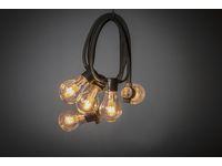 Ljusslinga 10 amber LED