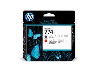 Skrivhuvud HP 774 P2V97A M-Svart/K-Röd