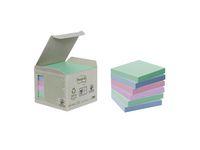 Notes POST-IT 100% recyc 76x76mmpast6/FP
