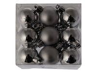 Julgranskulor Hänge 3cm Silver 18/FP