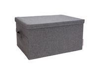 Förvaringsbox BIGSO L grå