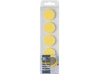 Magnetknappar ACTUAL 25mm gul 10/FP