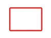 Magnetram TARIFOLD A4 röd 2/FP