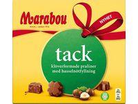 Choklad Marabou Tack Hazelnut 110g