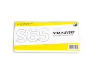 Kuvert konsument fp S65 FH vit 50/FP