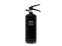 Brandsläckare NEXA pulver 2kg svart 13A