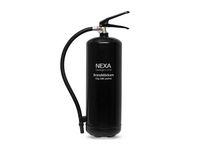 Brandsläckare NEXA pulver 6kg svart 43A