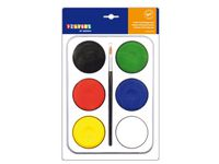 Färgblock 57mm i palett 6 färger