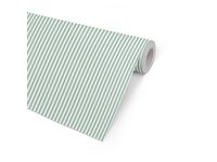 Presentpapper 57cmx154m Five Stripe grön