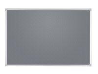 Anslagstavla 90x60cm grå