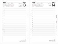 Business kalendersats 1 dag/sida - 4802