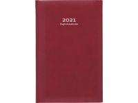 Dagbokskalender konstläder röd - 1087