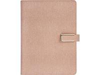 Dagbok konstläder rosa - 5720