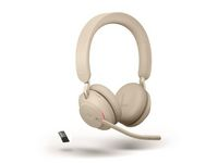 Headset JABRA Evolve2 65 MS Beige