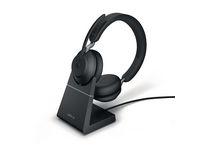 Headset JABRA Evolve2 65 MS Stand Black