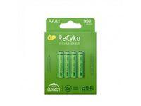 Batteri Laddbar GP Recyko AAA 4/FP