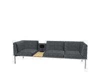 Soffa Sona 3,5-sits SO/351/N/58/L grå