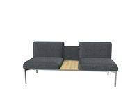 Soffa Sona 2,5-sits SO/251/N/30 grå