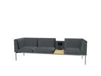 Soffa Sona 3,5-sits SO/351/N/58/P grå