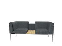 Soffa Sona 2,5-sits SO/251/N/34 grå