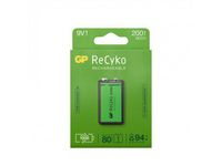 Batteri Laddbar GP Recyko 9V