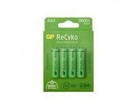Batteri Laddbar GP Recyko 2600 AA 4/FP