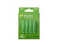 Batteri Laddbar GP Recyko 2100 AA 4/FP