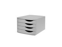 Blankettbox JAMELA 4 lådor ECO grå