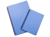 Anteckningsblock PP A4 90bl blå