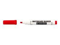 Whiteboardpenna CENTROPEN skuren röd