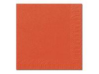 Duni Servett 3-lags 33x33cm Orange (fp om 125 st)