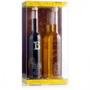 Fam. Labardi presentförpackning med olivoljor