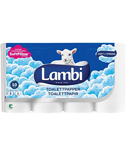 Toalettpapper LAMBI Soft Strong 40/FP