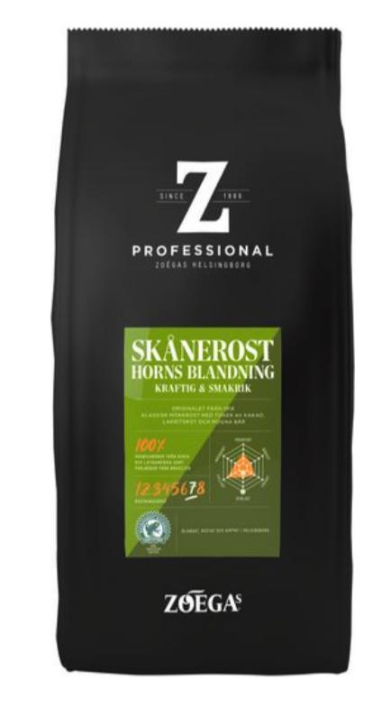 Kaffe ZOÉGAS Skånerost 750g