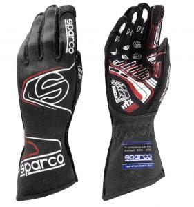 Handskar Sparco Arrow Evo RG-7 Svart/Röd