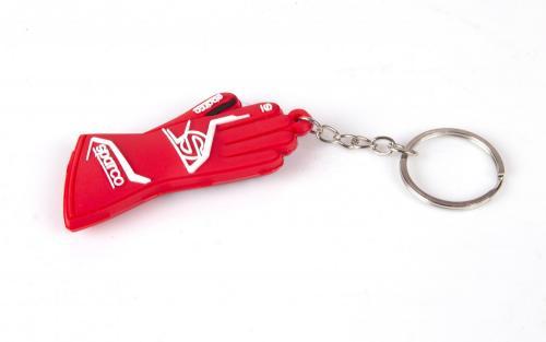 Sparco Nyckelring Handske, röd